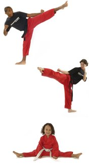 Martial art training at home